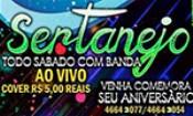 Folder do Evento: BALADA SERTANEJA DE CLUB SONHO VERDE