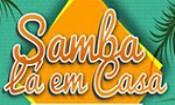 Folder do Evento: Samba lá em casa