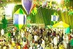 Folder do Evento:  ARRAIÁ DA MANCHA VERDE 2013