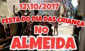 Folder do Evento: Festa Do Dia Das Crianças No Almeida
