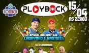 Folder do Evento: Playback Especial