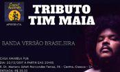 Folder do Evento: Tributo Tim Maia