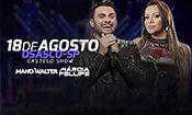 Mano Walter + Márcia Felipe em Osasco
