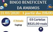 Folder do Evento: BINGO Beneficente Amamos