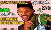 Folder do Evento: Rajada de Dancehall x Dog House no Capel