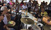 Folder do Evento: Feijoada com SAMBA DE FATO SP e Amigos
