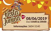 Folder do Evento: Festa Junina da AACD Osasco