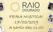 Folder do Evento: Feira Mistica RAIO Dourado