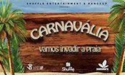 Folder do Evento: Carnavália @BANANAS