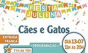 Folder do Evento: Festa Julina do Cães e Gatos