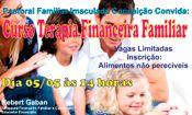 Folder do Evento: Curso Terapia Financeira Familiar