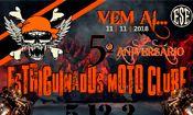 Folder do Evento: 5º Aniversário Estriguinados Moto Clube