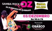 Folder do Evento: Samba Rock de Oz de Quebrada em Quebrada