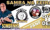 Folder do Evento: Samba Na FEIRA 5 Anos
