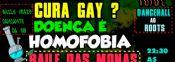 Folder do Evento: Cura Gay?Doença é Homofobia