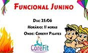 Folder do Evento: Funcional Junino