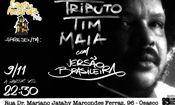 Folder do Evento: Tributo Tim Maia - Banda Versão