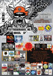 Folder do Evento: 5º Aniversário dos Estriguinados MC