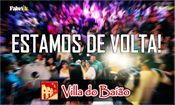 Folder do Evento: A VILLA do BAIÃO ESTÁ de VOLTA!