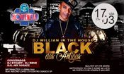 Folder do Evento: Dj Willian Apresenta Black Dás Antigas