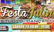 Folder do Evento: Festa Julina do Studio Dança MIx
