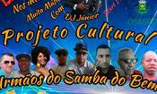 Folder do Evento: Projeto Cultural irmãos Do Samba Do Bem
