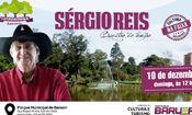 Folder do Evento: Sérgio Reis no Cultura no Parque