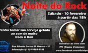 Folder do Evento: Noite do Rock