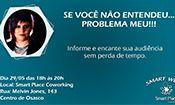Folder do Evento: Se você não entendeu PROBLEMA MEU!
