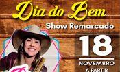 Folder do Evento: Dia do Bem com show Bruna Viola