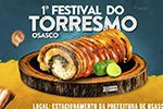 Folder do Evento: 1°FESTIVAL DO TORRESMO DE OSASCO