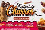 Folder do Evento: FESTIVAL DO CHURROS DE OSASCO