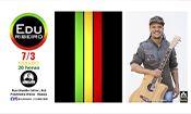Folder do Evento: Edu Ribeiro com o melhor do reggae