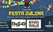 Folder do Evento: Festa Julina da Escola de Artes