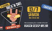 Folder do Evento: 1º Festival Rock'n Dog SESI Osasco