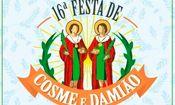 Folder do Evento: 16ª Festa de Cosme e Damião