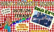 Folder do Evento: BAILE JUNINO COM A BANDA KAROL
