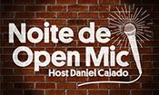Folder do Evento: Noite De Open Mic Stand Up Comedy