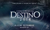 Folder do Evento: Conferência Destino 2018