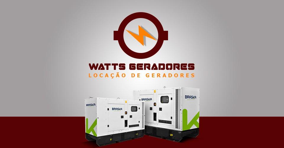 Watts Geradores - Locação de Geradores