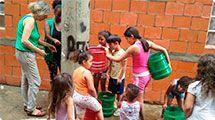 Habita��o de Osasco faz oficina de educa��o ambiental com moradores da �rea BK