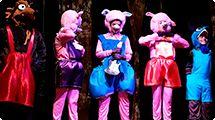 Teatro Municipal recebe �Os tr�s porquinhos� no feriado